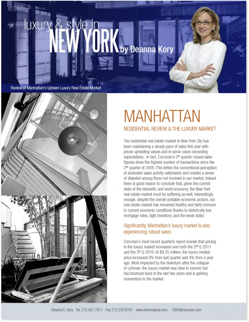 real estate newsletter