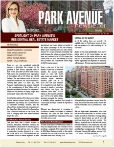 park-ave-newsletter-cover