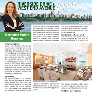 Riverside Drive & West End Avenue Newsletter