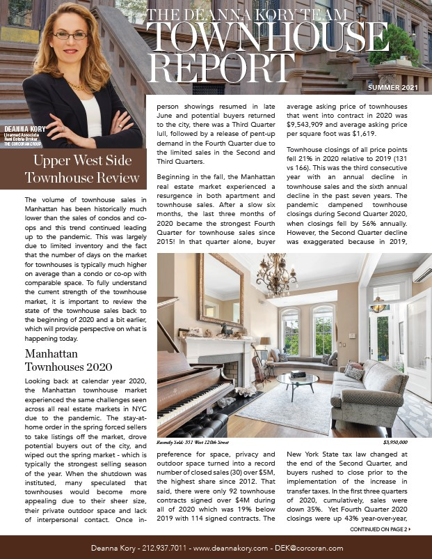 townhouse-newsletter-cover